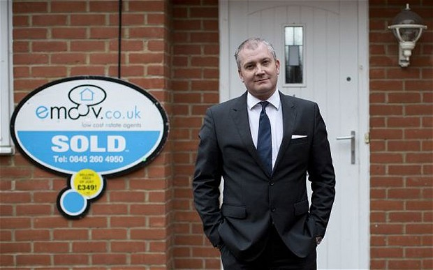 The angel investor behind Zoopla and Lovefilm has turned his attention to eMoov, one of a growing number of low-cost online estate agents threatening the traditional, high street brands. Simon Murdoch, managing partner of venture capital firm Episode 1 and an early backer of gaming company Betfair, has announced a £1.5m investment into eMoov, which is owned by former Dragons' Den star James Caan. Click here to read more