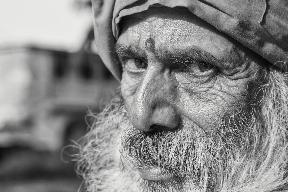 A Baba I met in Devghat (Nepal). - Copyright: Daniel Hofmann