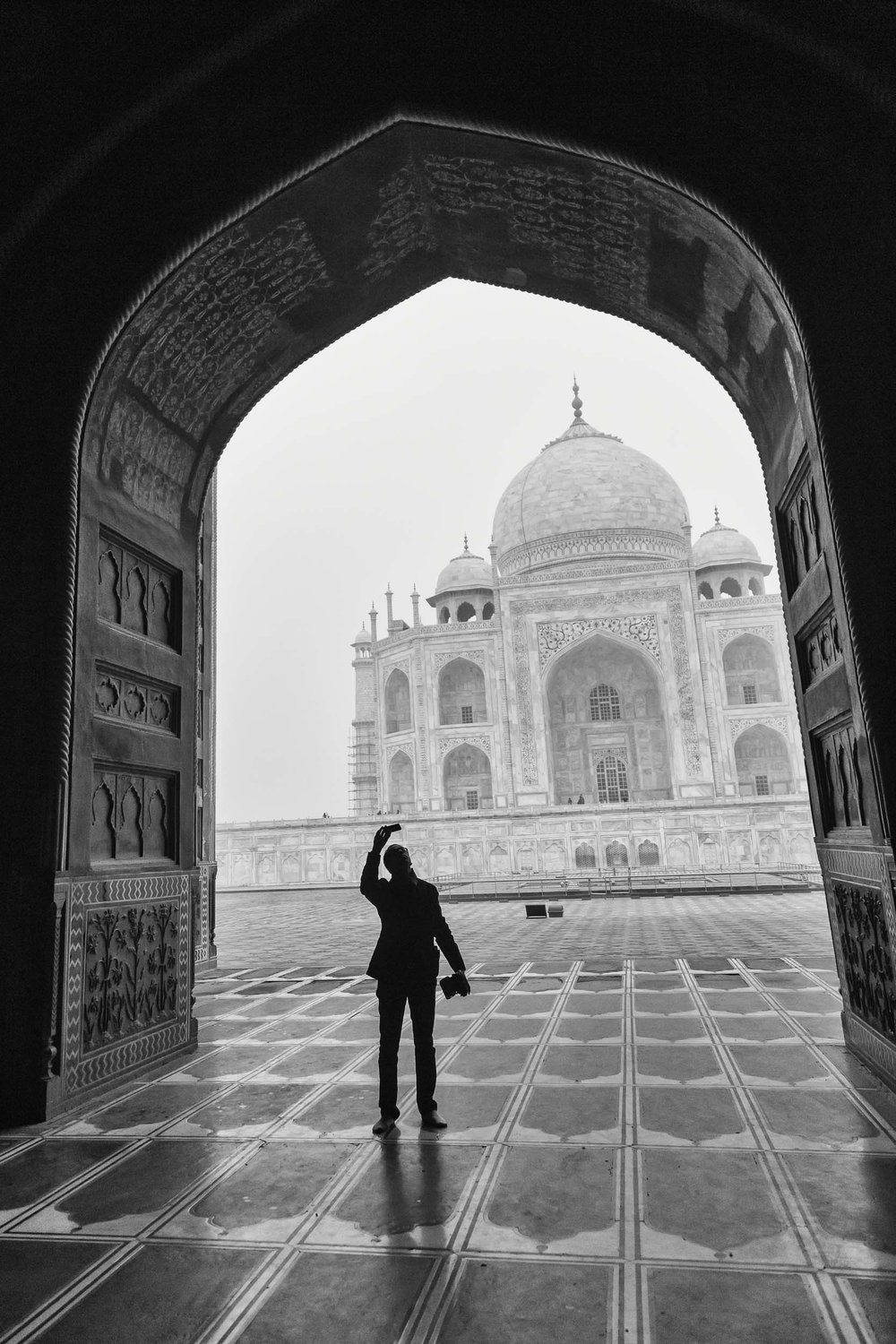 Photography from the Taj Mahal India