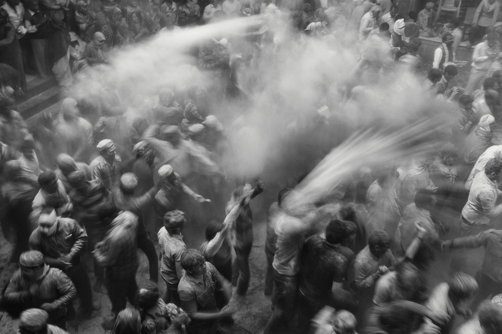 Holi Festival in Vrindavan India Reportage Photography