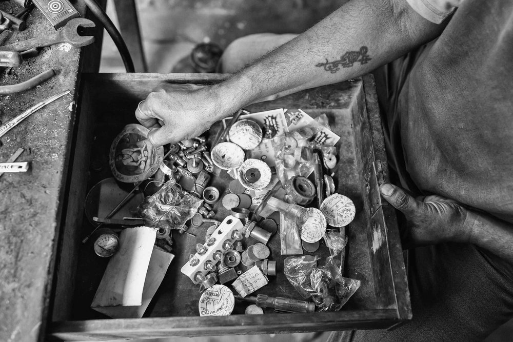 Repairmen of Goa reportage photography in India