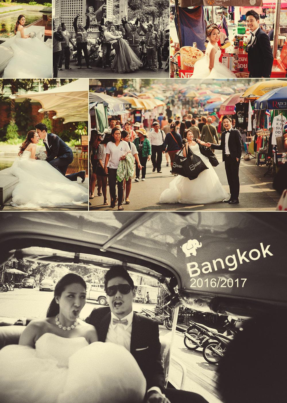 2016 / 2017 瘋曼谷婚紗跨年團已開!還可加入一組新人!!( 一起瘋鬧曼谷市區或壯麗的大城唄 )