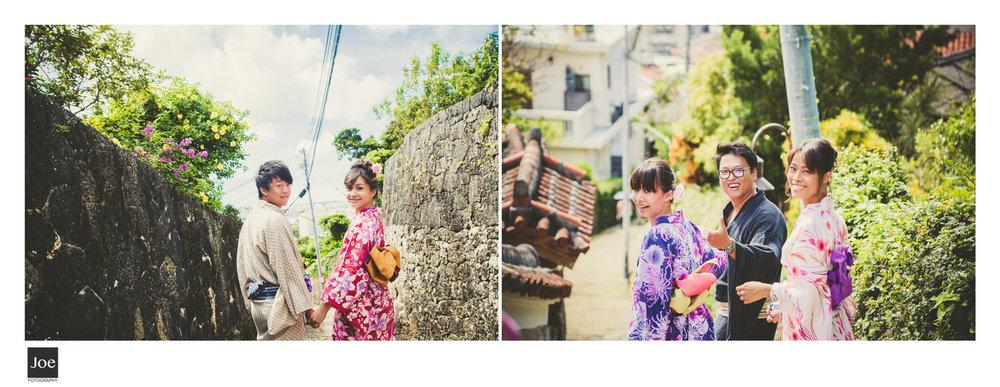 很難想像這麼純樸幸褔感的沖繩,經歷過那麼慘烈的歷史。在1945年中,沖繩島上90%的建築都全毀了...