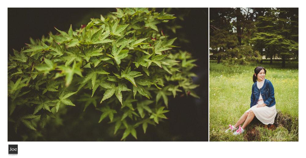 京都御苑的好,就是都人少清幽,來這放鬆散步真的是最好的選擇之一。愛慢跑的人也很建議來到御苑外圍,跑一圈將近4公里。Joe來京都都會到御苑外夜跑。