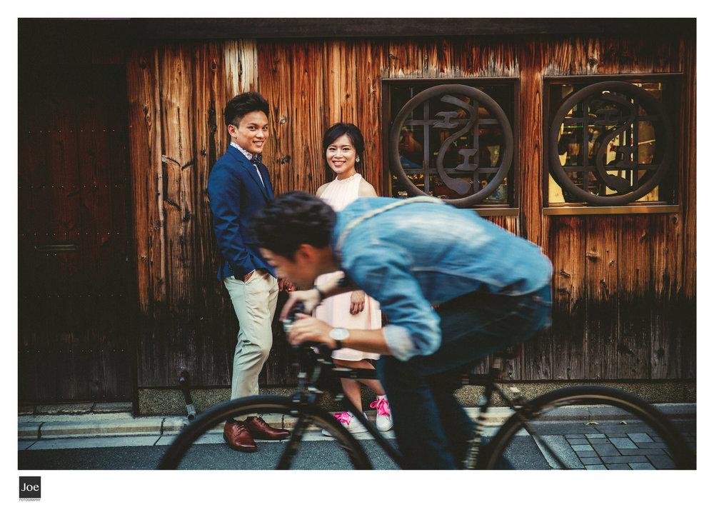 京都是騎腳踏車最合適的地方之一。而且在這騎單車的人士,不論男女老少都很有型。