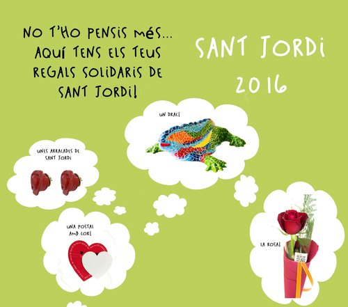 El Centre d'Acollida Assís celebra Sant Jordi