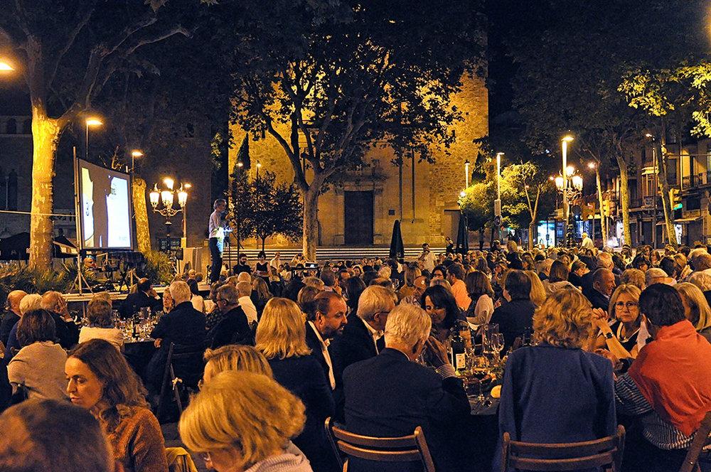 Esteve Pedrals, vicepresident d'ASSÍS Centre d'Acollida, durant el discurs d'apertura del SOPAR.