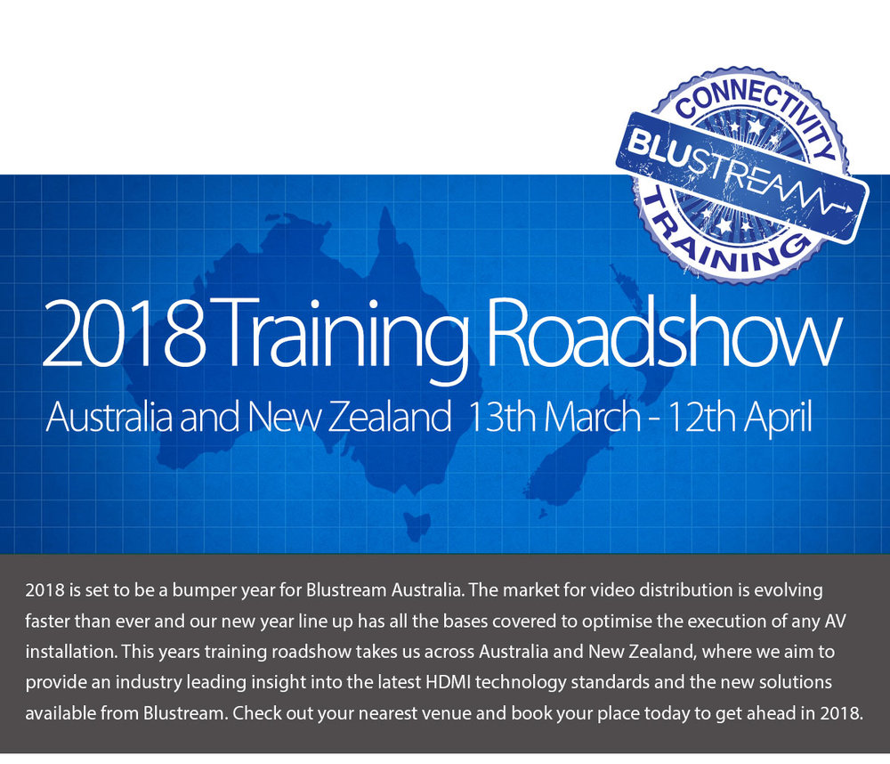 d775789f590 2018 Training Roadshow announced for Australia and New Zealand ...