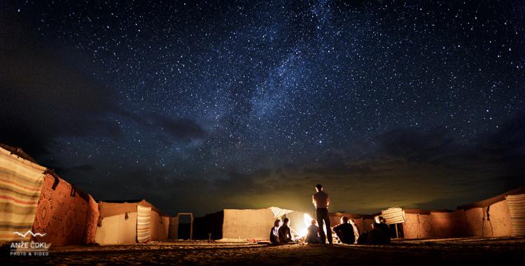Milijarde zvezd v zahodni Sahari