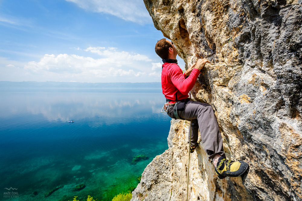 Plezanje nad Ohridom