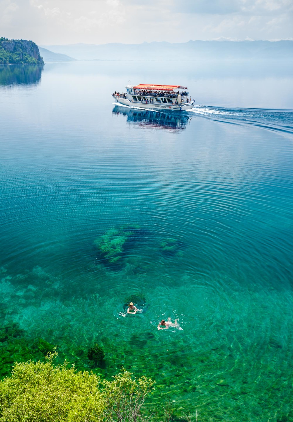 Osvežitev v Ohridu