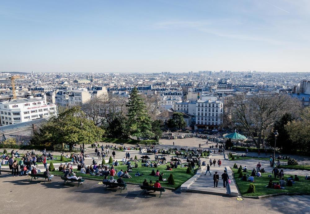 Razgled na Pariz.