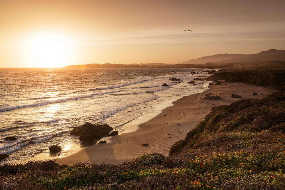 Pacifiški sončni zahod zadnjega dne najine avanture.