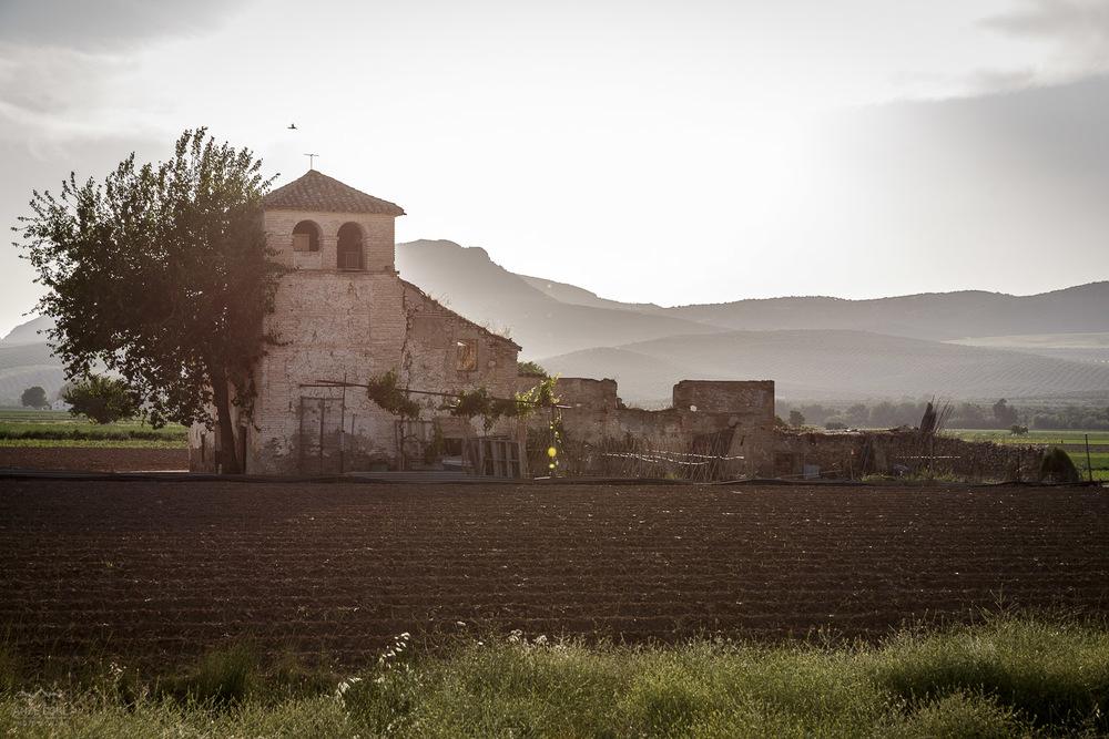 Osamljena kmetija v Andaluziji.