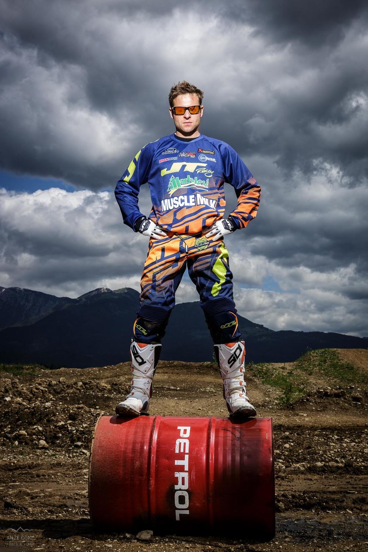 Tomi Mulec - portret motokrosista.