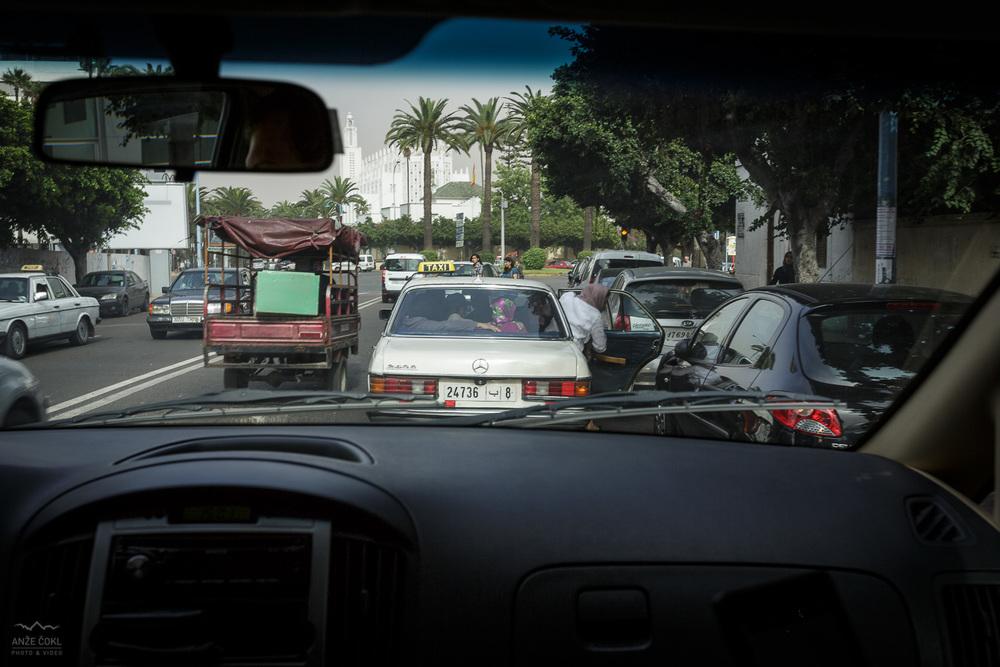 Prometni kaos Casablance