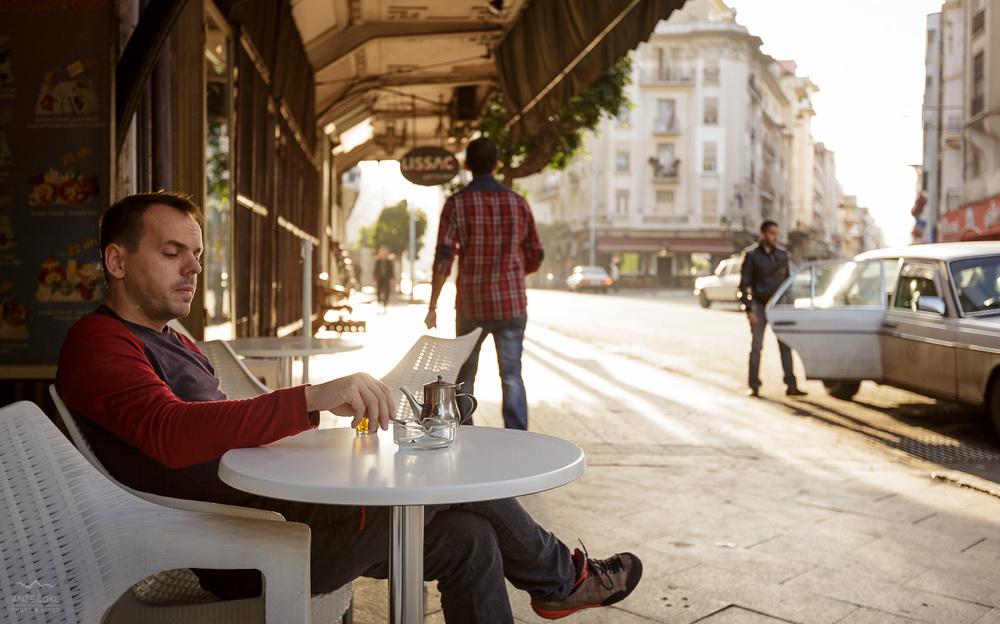 Jutranja kava v Casablanci