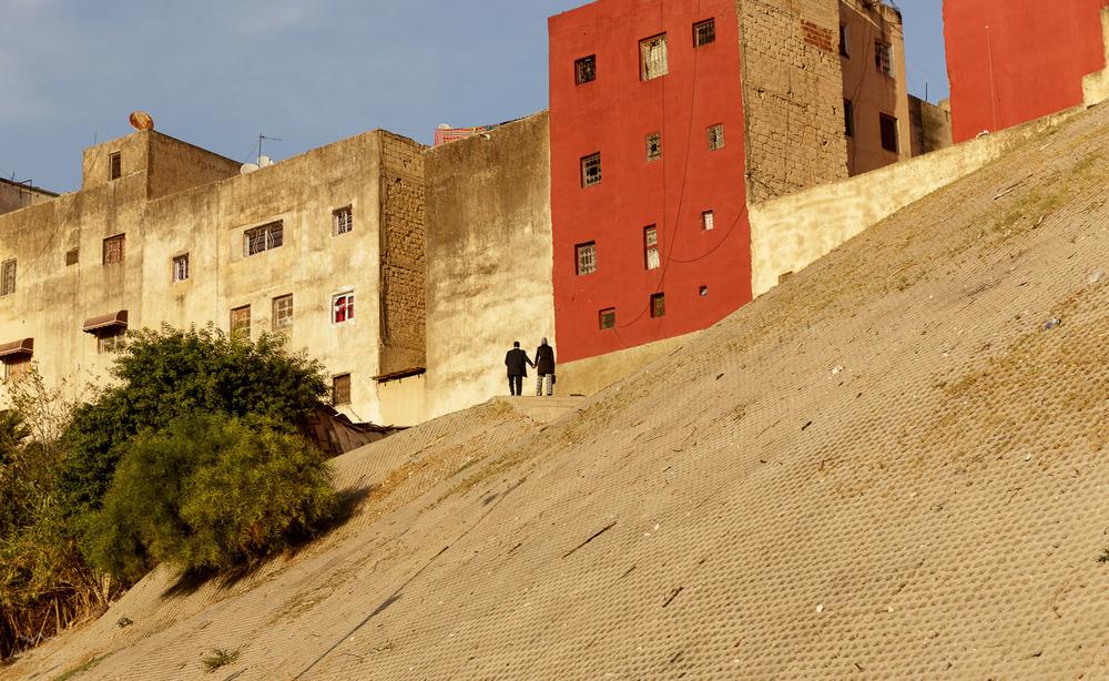 Pisani del mesta Fez.