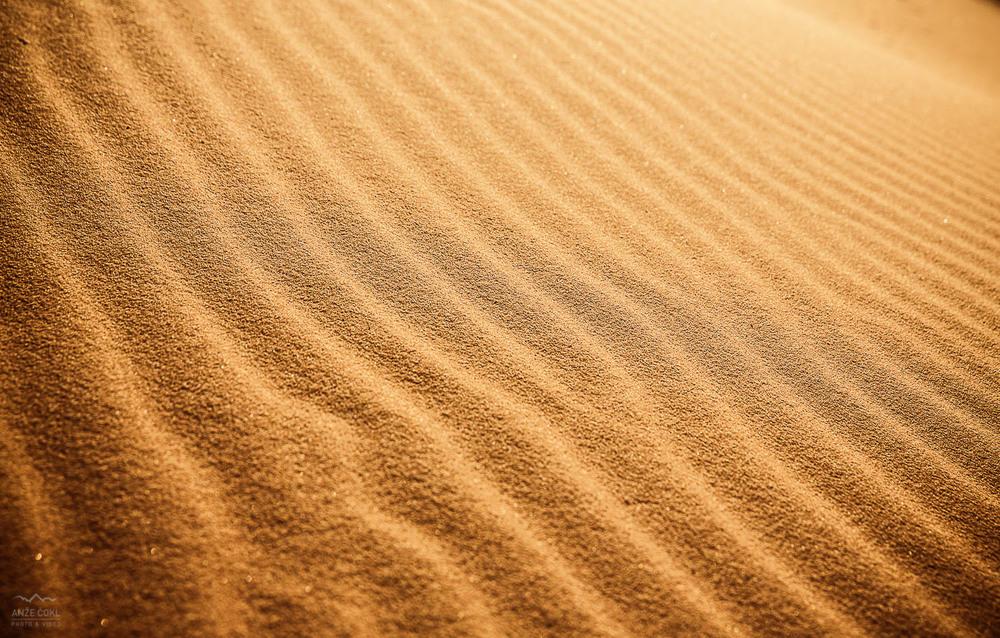 Peščeni valovi.