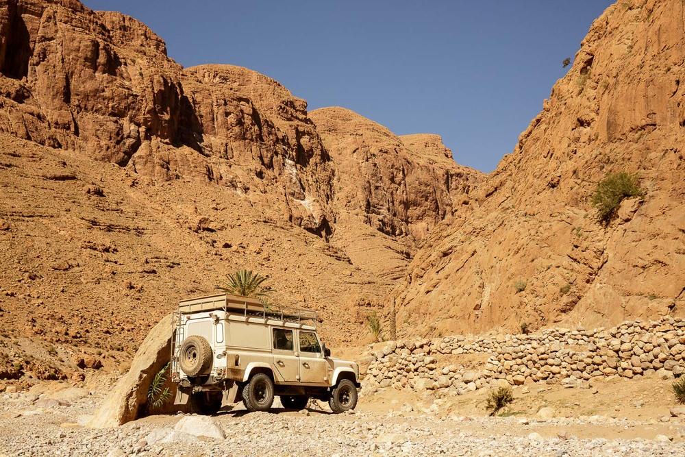 Najprimernejše vozilo za puščavske destinacije.