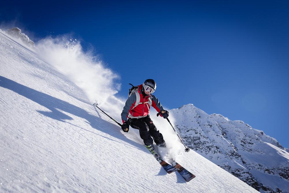 Pršičasti raj za odvisneže od globokega snega.