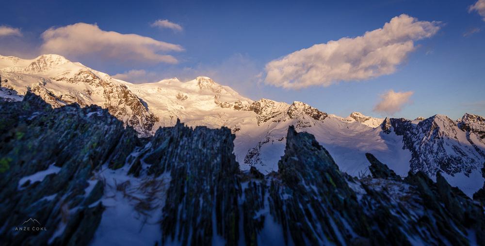 Poslavljamo se od Monterose in se selimo v Chamonix.