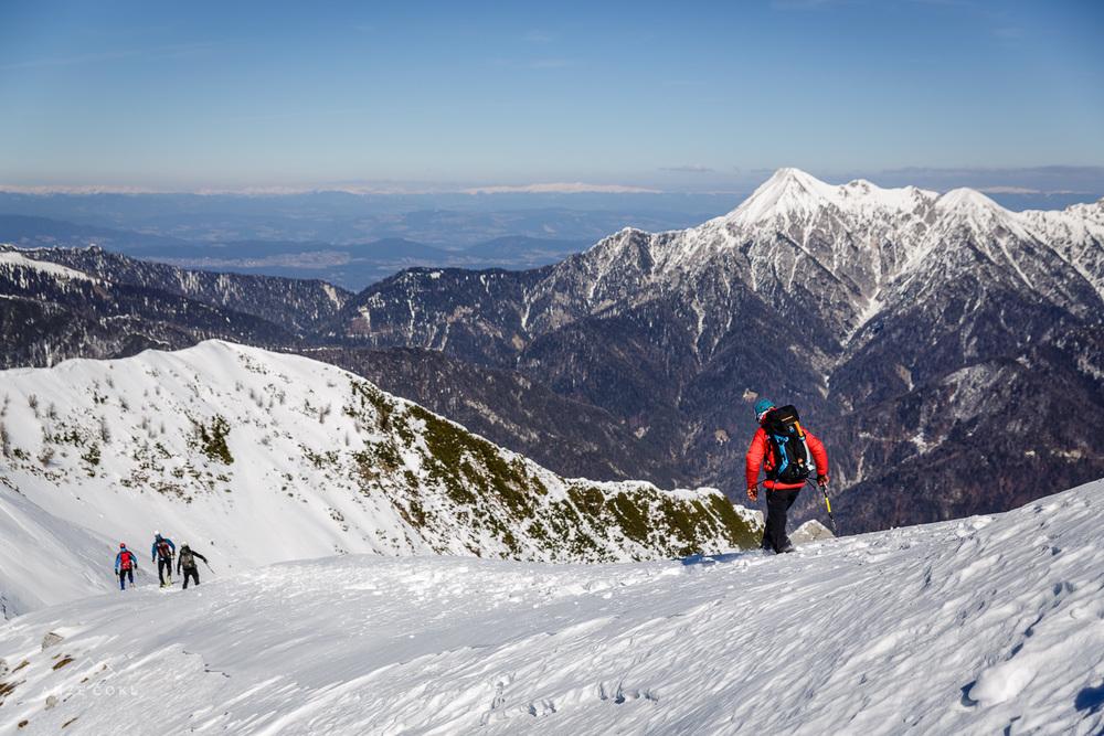 Sestop z vrha še pobliže