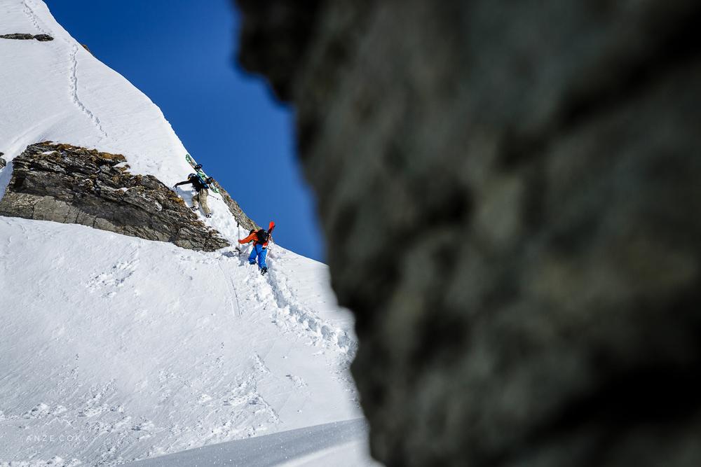 Za najlepše linije pa je potrebno poprijeti še za skalo. Ampak trud je poplačan!