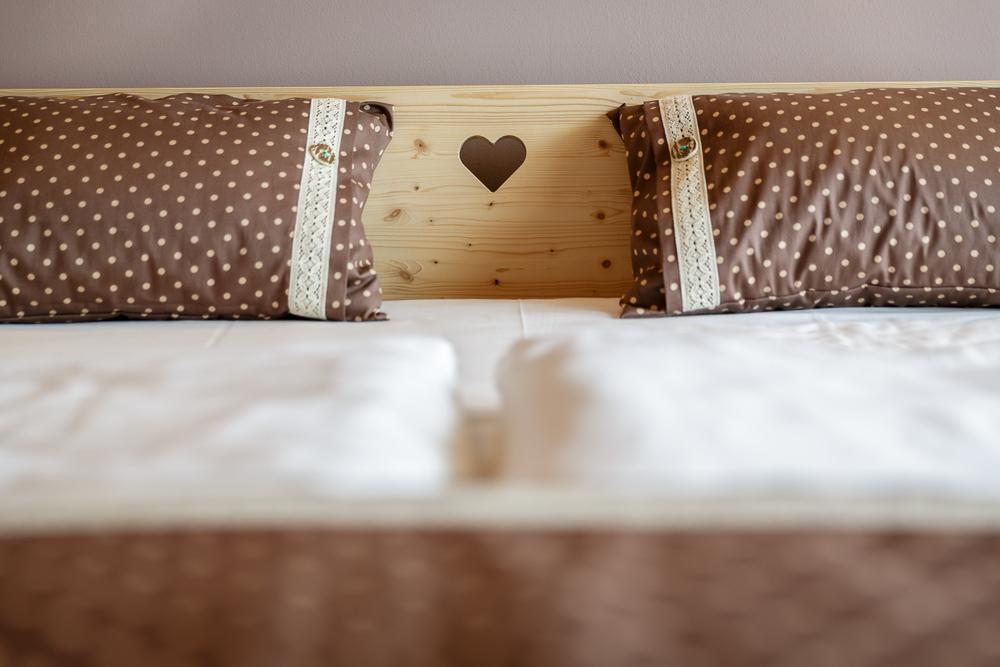Detajl postelje