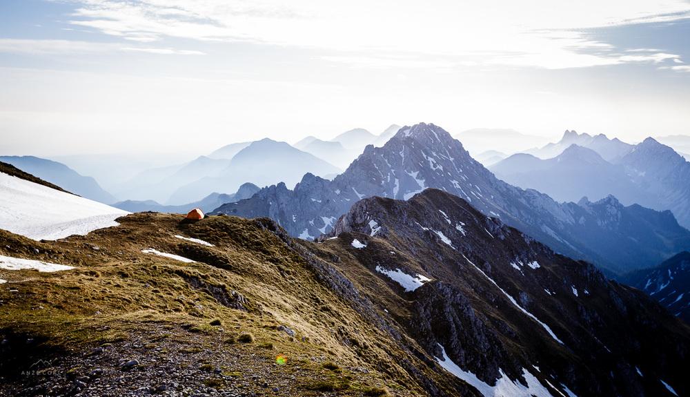 Dobro jutro Slovenija z najlepšega šotorišča v Karavankah! :)