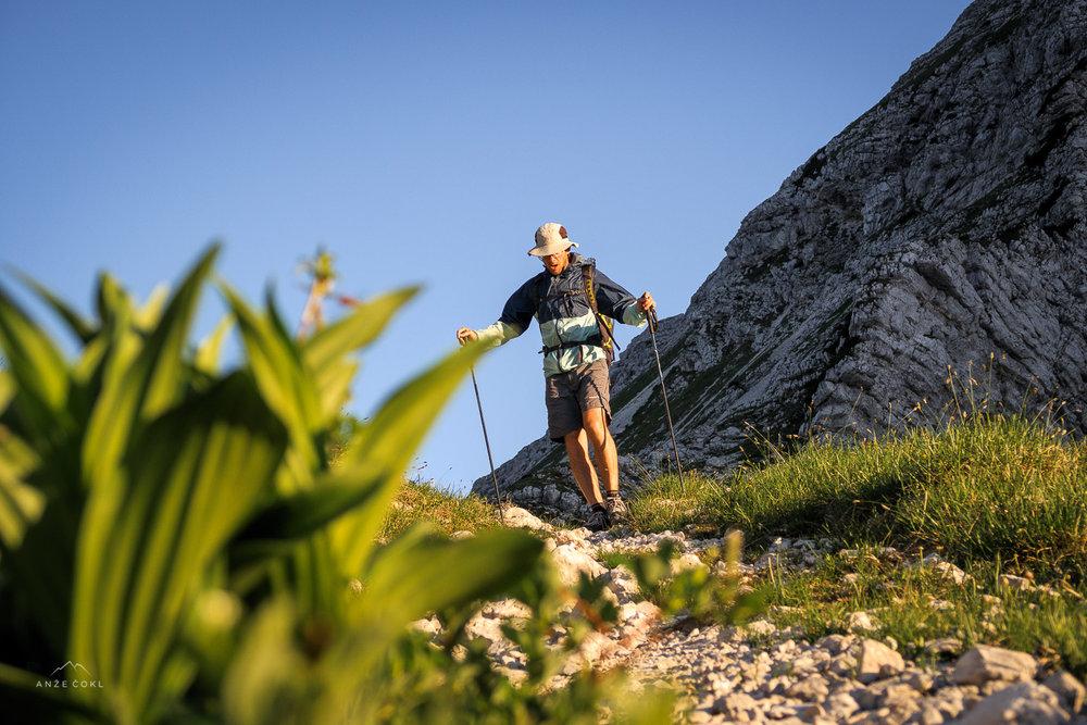 Dule, čigar najdaljša tura po operaciji kolena in pred našim 45 km izletkom je bila Šmarna gora.