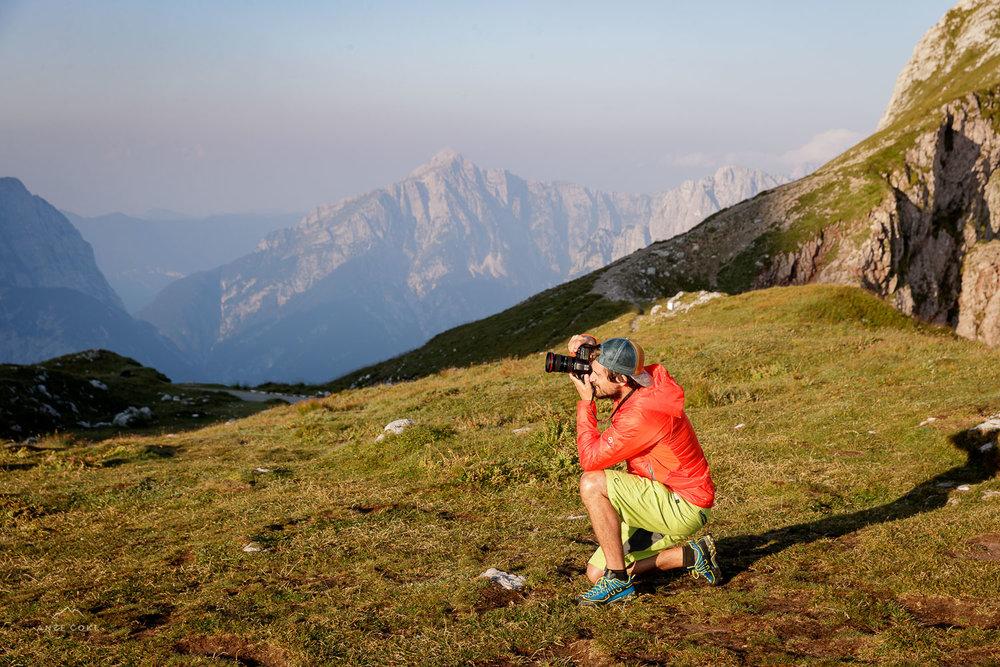 Tudi Vasja je navdušen fotograf!