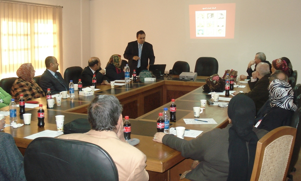 ENREC meeting at the National Hepatology and Tropical Medicine Research Institute (NHTMRI) in Cairo, Egypt
