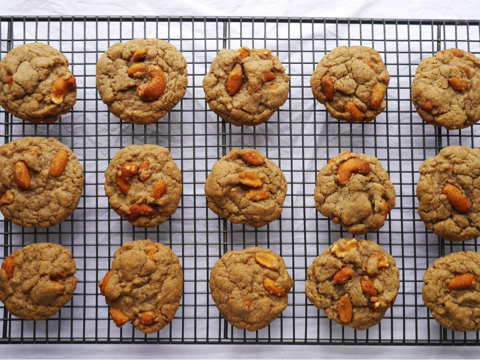 Nutty Diary-Free Autumn Cookies