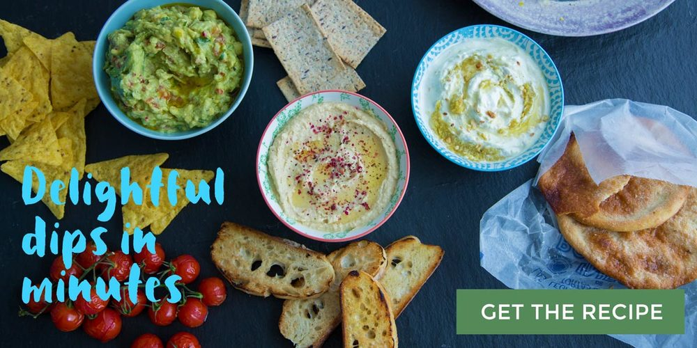 Delightful Dips with Avocado oil, Macadamia oil, and Apricot kernel oil