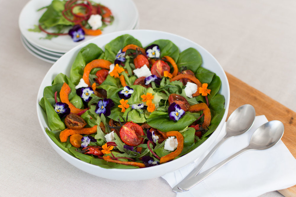 Flower Rainbow Salad