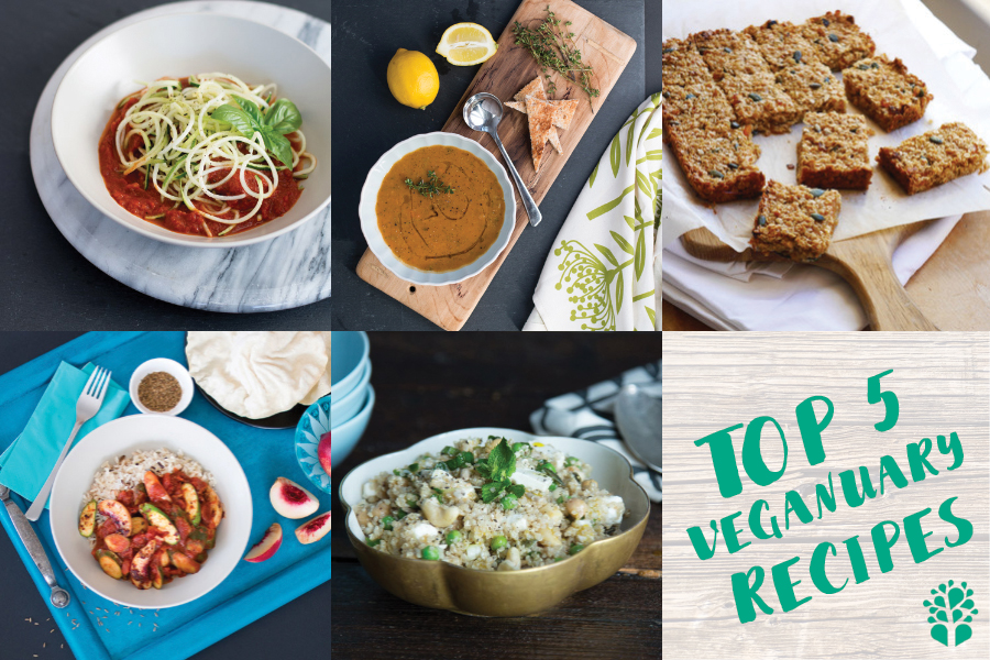 Top 5 Healthy Veganuary Vegan Recipes from Mokhado
