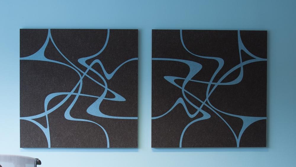 Wanddecoratie Twister