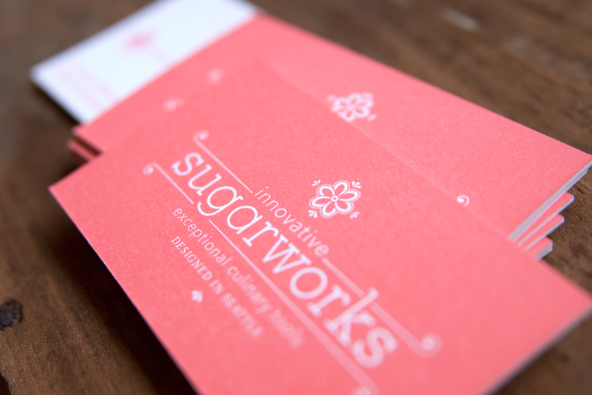 Sugarworks Letterpress Business Cards