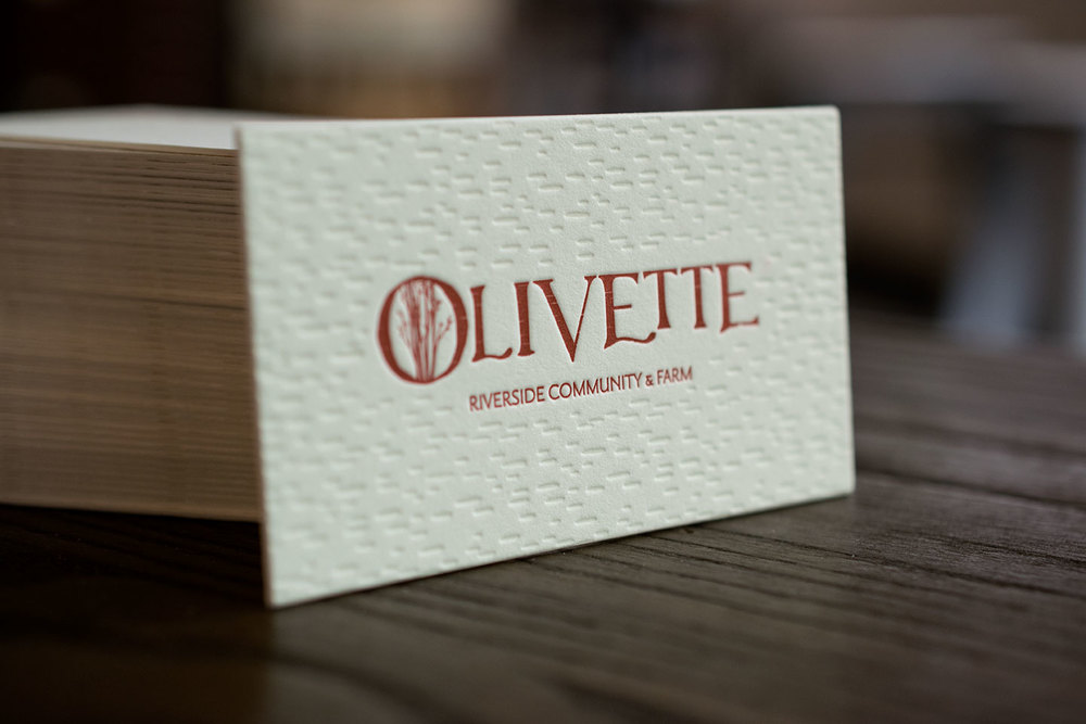 7 Ton Co. — Letterpress Business Card, Printed at 7 Ton Co., Designed by 828 Design