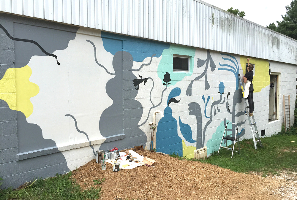7 Ton Co. - Mural by Kreh Mellick