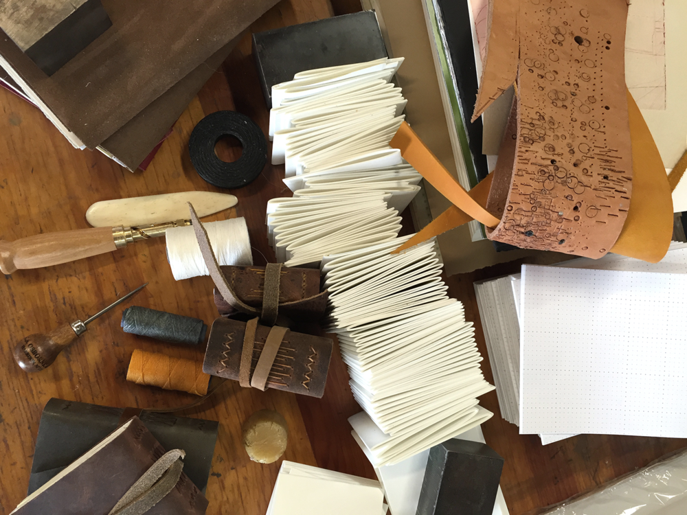 7 Ton Co. - Bookbinding Leather Journals