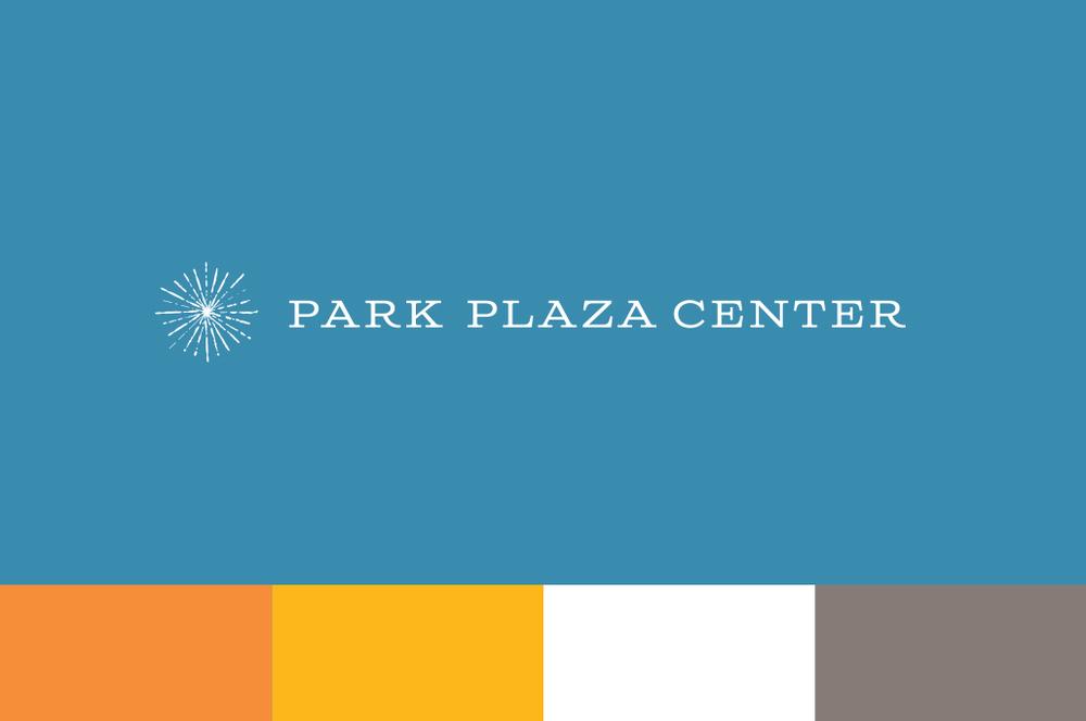 Park Plaza Center — Logo design and color palette