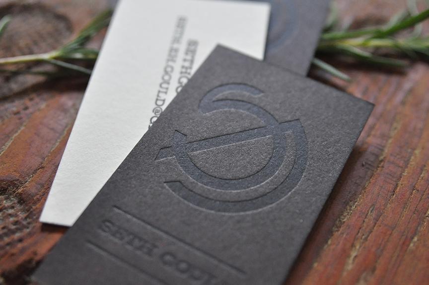 Business Card Design, Letterpress Printing