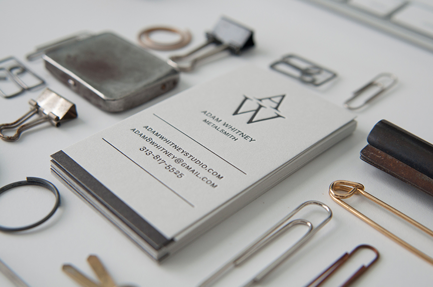 Logo Design, Business Card Design, Letterpress printing