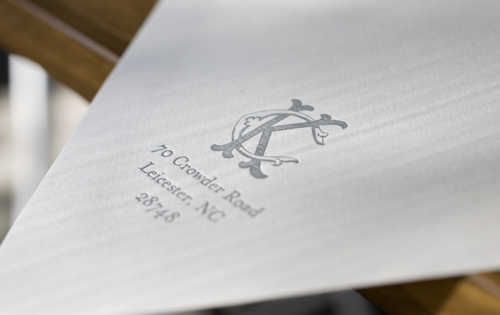 7 Ton Co. - Letterpress Printed Envelopes