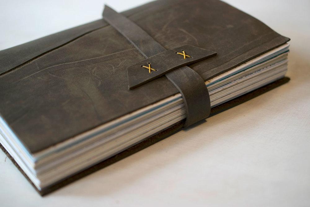 7 ton co - leather book!