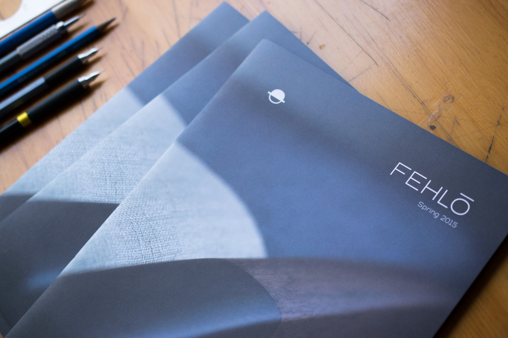 Fehlo 2015 Catalog, Lifestyle Photography, Branding Design