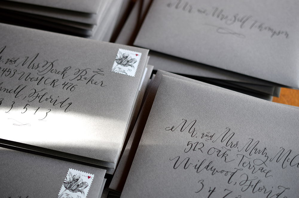 Hand Addressed Envelopes