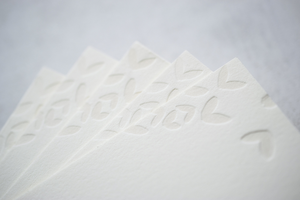 7 Ton Co.—Custom Letterpress Invitation